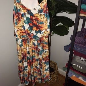Floral summer dress size medium